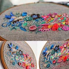 O Blog da DMC: Os bordados de Lanusa