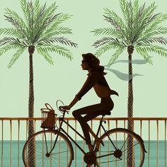 Barcelona Beach Bike by Jordi Labanda