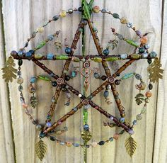 Awesome hanging pentacle, will surely try and make one for myself. :)