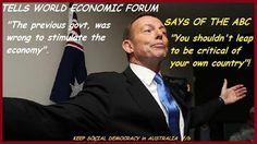 #auspol #australia #tonyabbott #abcnewsaus #davos2014 #gfc