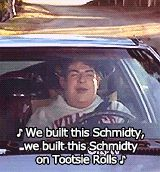 fat schmidt... I might sing this a lot.
