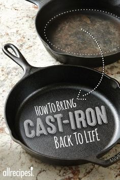How To Re-Season a Cast Iron Pan
