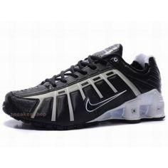 #Nike #sports Nike Shox Shoes, Nike Mens Shoes Buy Nike Shox OLeven Black White 69