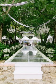 Ceremony in Mexico: http://www.stylemepretty.com/destination-weddings/mexico-weddings/2017/02/09/real-housewives-of-toronto-star-weds-in-mexico-with-ombre-rose-backdrop/ Photography: Mango Studios - http://mangostudios.com/