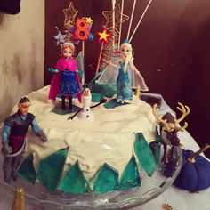 Gâteau de la Reine des neiges