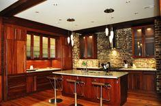 Urban Loft Design | Urban, Loft Kitchen - Interior Design Idea in Spartanburg SC