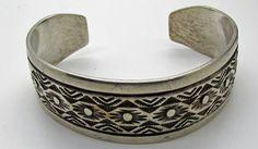 Native American Sterling Silver Bracelets for sale Troy, Navajo, Jewelry Shop, Jewelry Accessories, Native American Jewellery, American Jewelry, Cuff Bracelets, Bangles, Sterling Silver Cuff Bracelet