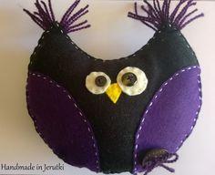 Handmade in Jerutki: Wesoły Romek / felt Owl