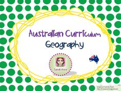 A collection of resources to support teaching the Australian Curriculum Geography