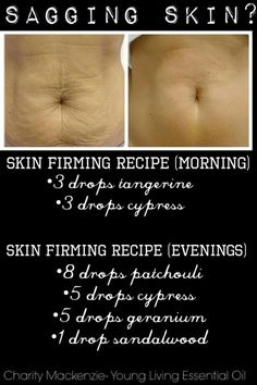 Young living - sagging and firming recipe