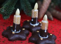 Lebkuchen – Kerze Gingerbread candle, a tasty recipe from the category biscuits & cookies. Biscuit Cookies, No Bake Cookies, Christmas Desserts, Christmas Cookies, Super Cookies, Candle Packaging, Easy Cookie Recipes, Christmas Gingerbread, 1st Birthdays