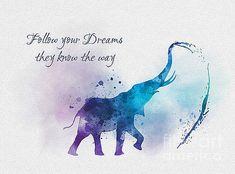 My Inspiration - Art Elephant Quotes, Elephant Art, Fox Quotes, Cute Quotes, Dumbo Quotes, Qoutes, Hades Disney, Disney Art, Dumbo Disney