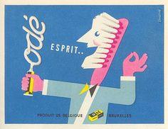 'Odé esprit' door Hans Bolleman/ca.1950
