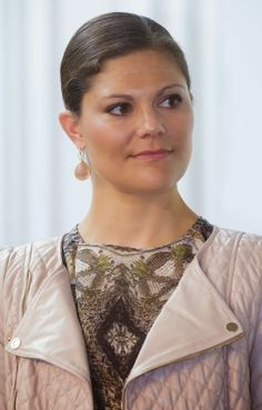 12 May 2014 Crown Princess Victoria attended the Recycling Day conference and delivered the Swedish Recycling Industries' Inspiration Prize