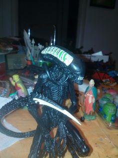 Custom Alien action fig