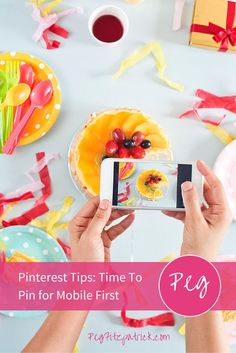 75% of Pinterest's activity is done on smartphones. Learn Pinterest tips to optimize your pins for mobile viewing from Pinterest expert Jeff Sieh, host of the Manly Pinterest Tips Show.