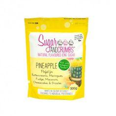 Azúcar glass sabor piña 500g