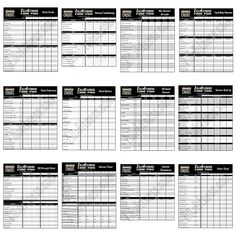 Printables Beachbody Worksheets the masters hammer and chisel workout schedule beachbody worksheets click image to download
