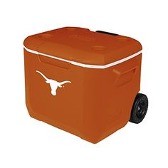 Coleman Company Texas Longhorns Performance Cooler, 60 quart, Orange -- Want to know more, click on the image.