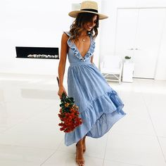 4e1a8f6b18045 109 Best Summer dresses images in 2019