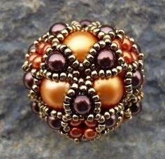 Lovely, chunky beaded bead