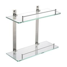 HOMEIDEAS 14-Inch Bathroom Lavatory Double Glass Shelf Wa... https://www.amazon.com/dp/B01IEYTDZ6/ref=cm_sw_r_pi_dp_x_SWK4xbJH8WN90