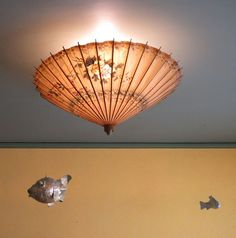paper umbrella light shade