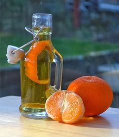 How to make Mandarin infused Vodka - with recipe for Mandarin 'Limoncello'