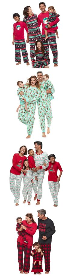 Lots of cute MATCHING FAMILY CHRISTMAS PAJAMAS!!!!! Time to grab them before they're all gone. For our Christmas Eve tradition. (aff)