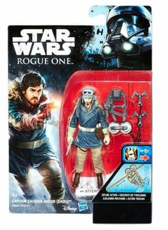 Hasbro Rogue One: A Star Wars Story wave 2 images! Figurines D'action, Star Wars Canon, Star Wars Vii, Luna Star, One Wave, Star Wars Action Figures, Star Wars Toys, Star Wars Episodes, Rogues