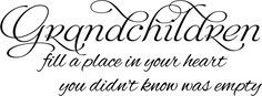 """vinyl wall decals grandkids quotes 