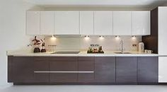 Modern Kitchen Breakfast Bar Hurtado Residence In Las Vegas Beauteous Compact Modular Kitchen Designs Design Decoration