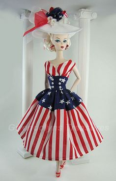MIss Patriotic Barbie