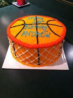 Basketball Cake Cakes Pinterest Basketball Basketball cakes