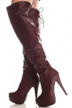 These boots feature a faux leather material, side zipper, multi ...