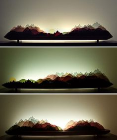 Main Inspiration: layering landscape, suggestive scenery, slightly abstract, minimalistic.