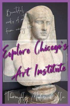 Don't miss a chance to explore Chicago's Art Institute and its awesome collection of art. Best Places To Vacation, Best Places To Eat, Cool Places To Visit, Places To Travel, Travel Destinations, Chicago Museums, Chicago Art, Chicago Travel, Travel And Tourism