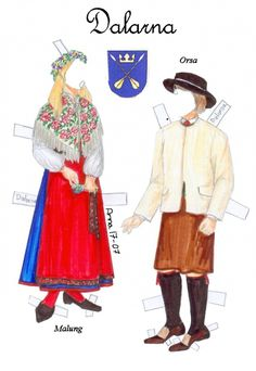 Svenskadrakter3 * 1500 free paper dolls at artist Arielle Gabriel's International Paper Doll Society also her new memoir The Goddess of Mercy & the Dept  of Miracles playing with paper dolls in Montreal *