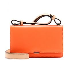 In love with Victoria Beckham's Mini Bar Lock Shoulder Bag! Way to spice it up Posh!