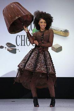 20e Salon du chocolat: Aurélie Konaté