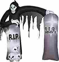 Amazon.com: Gemmy Airblown Archway Reaper Inflatable: Patio, Lawn & Garden