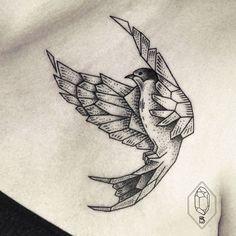 24 Wonderful Swallow Tattoo Designs