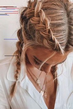 Great, but simple hair tutorial Tolles, aber einfaches Haar-Tutorial Great, but simple hair tutorial - Braided Ponytail Hairstyles, Trendy Hairstyles, Wedding Hairstyles, Short Haircuts, Summer Hairstyles, Hairstyle Tutorial, Wedding Hair Down, Wedding Nails, Hair Highlights