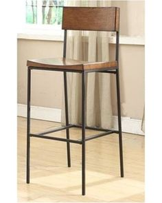 otto-30-bar-stool-bar-28-33-low-back-metal-armless-wood-industrial-black-4-legs-brown 320×400 pixels