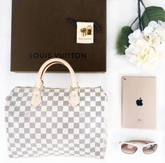 Louis Vuitton + Designer Sunglasses + Gold iPad Mini
