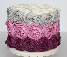 Rosette cakes - Google Search