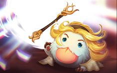 Download wallpapers Poro, characters, art, League Of Legends