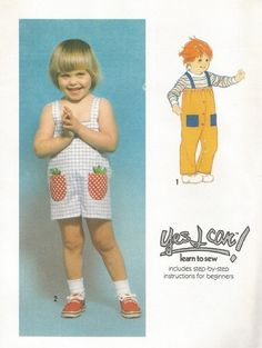 Vintage+1970s+Pattern+Simplicity+8998+Toddler+Size+1+Romper+in+Two+Lengths+Uncut