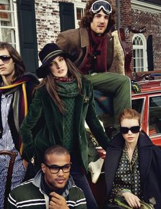Tommy Hilfiger Winter 2011-2012 Ad Campaign.