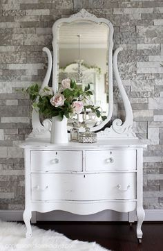Amazing Painted Dresser Makeover Ideas- with before and after photos &; Painted Furniture Ideas Amazing Painted Dresser Makeover Ideas- with before and after photos &; Painted Furniture Ideas Sherry Naparstek For the Home […] furniture before and after Upcycled Furniture, Shabby Chic Furniture, Shabby Chic Decor, Rustic Furniture, Vintage Furniture, Home Furniture, Furniture Design, Furniture Ideas, Modern Furniture